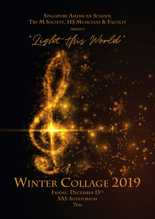 Winter Collage 2019: Light This World